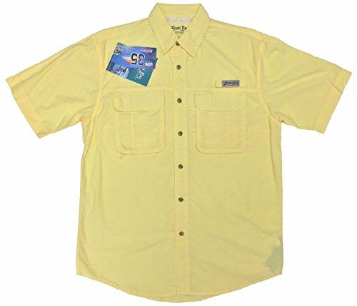 Bimini Bay Outfitters Bimini Flats III Short Sleeve Shirt Sunray X-Large
