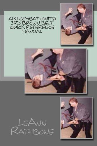Aiki Combat Jujits 3rd Brown Belt Quick Reference Manual [Rathbone, LeAnn] (Tapa Blanda)