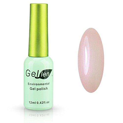 Gellen LED Gel Polish Color Polish 1pc 12ml Shiny Lovely Gre