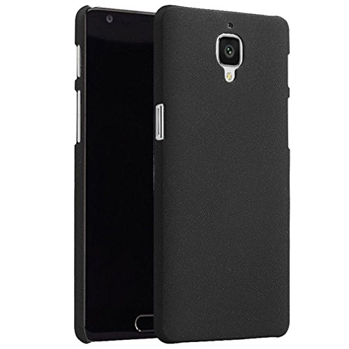 For Oneplus Three / OnePlus 3 case,Lucoo Fashion Original Pelosi Sandstone Skin Case Cover For Original Pelosi Sandstone Skin Case Cover For Oneplus Three / OnePlus 3 Blue (Black)