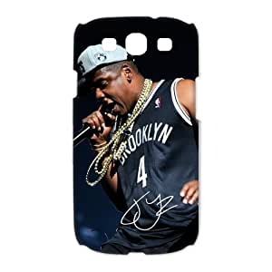 Custom JAY-Z Hard Back Cover Case for Samsung Galaxy S3 CL1184 by runtopwell