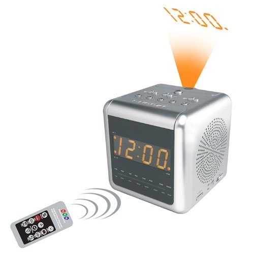 COP-USA ALC-DVR32SL 2-Band AM/FM Alarm Clock Radio Covert DVR Camera, Slowshutter 0.001 Lux sense up to 32X, Includes Remote control and 4GB SD (Mpeg4 Compression)