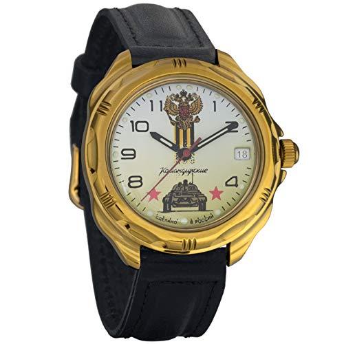 - Vostok Komandirskie Commander Russian Army Mens Mechanical Military Wrist Watch #219943