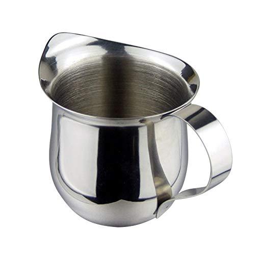 Cafetera de acero inoxidable para café o café, taza de espuma ...