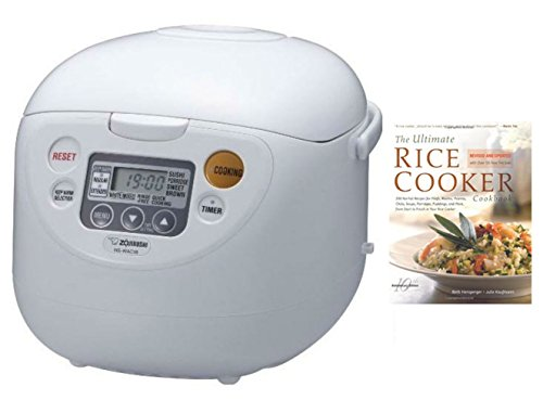 Zojirushi NS-WAC18-WD 10-Cup (Uncooked) Micom Rice Cooker and Warmer + PC Dry Measuring Cup (1-Cup) + Accessory Kit