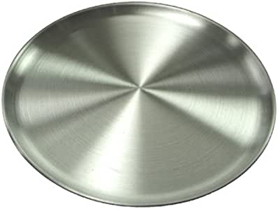 Winware Coupe Style Aluminum 8-Inch Pizza Tray