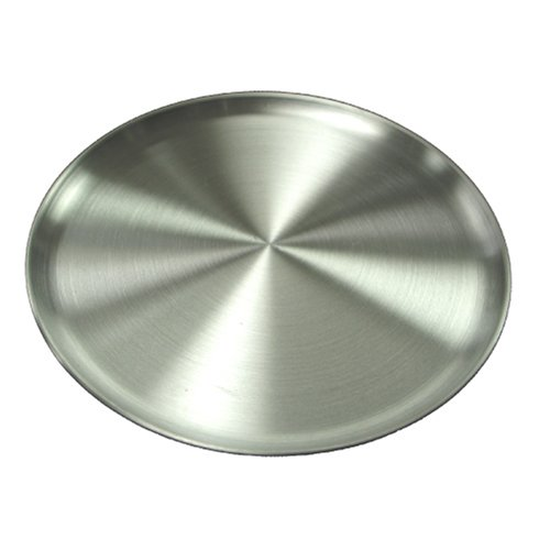 Winware Coupe Style Aluminum 13-Inch Pizza Tray - Coupe Style Pizza Pan