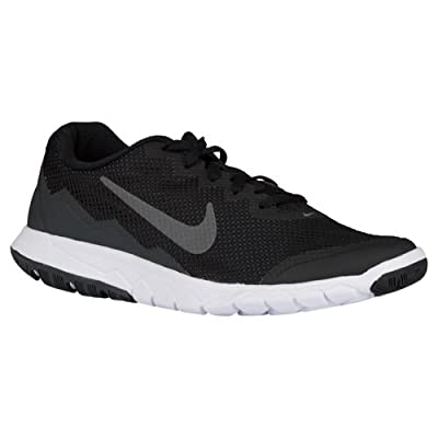 Nike Men's Flex Experience RN 4 (Black/Mtlc Drk Gry/Anthracite/White) Running Shoe, 8.5 B(M) US