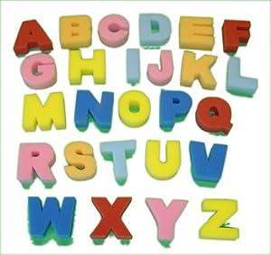 Alphabet Sponge Painting Set Upper Case Letters Amazon