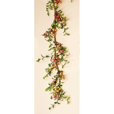 Worth Imports Rose Hip Garland, 5'