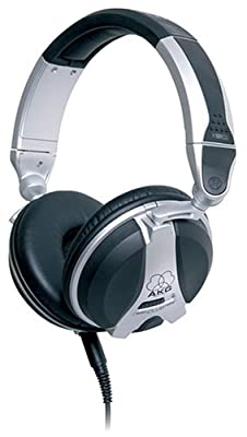 AKG High Performance Closed-Back DJ Headphones -