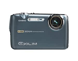 Casio Exilim EX-FS10 9.1MP Digital Camera with 3x Optical Image Stabilized Zoom and 2.5 inch LCD (Blue)