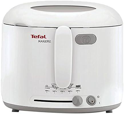 Tefal Uno M FF1231 - Freidora (Solo, Color blanco): Amazon.es: Hogar