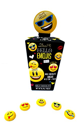 Lindt Chocolate Emojis Text Symbols Milk Chocolate 65 Count