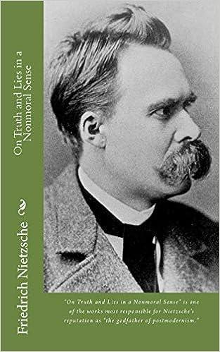 On Truth and Lies in a Nonmoral Sense: Amazon.es: Nietzsche, Friedrich: Libros en idiomas extranjeros