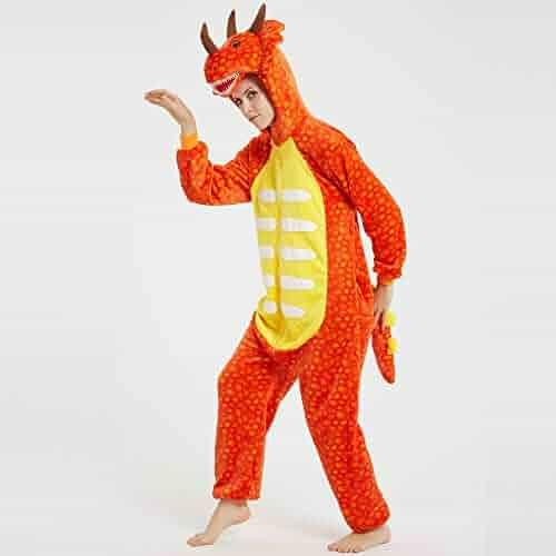 wotogold Animal Husky Dog Pajamas Unisex Adult Cosplay Costumes