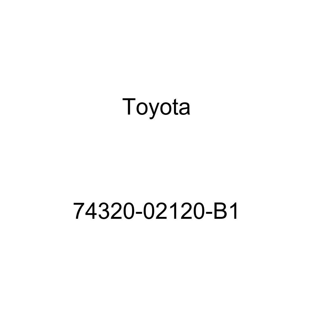 TOYOTA Genuine 74320-02120-B1 Visor Assembly