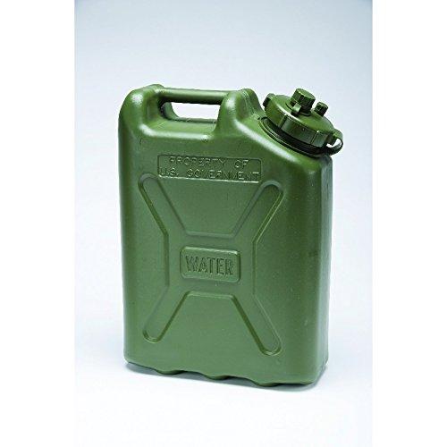 LCI PLASTIC WATER CAN 5 GALLON (Green Can)