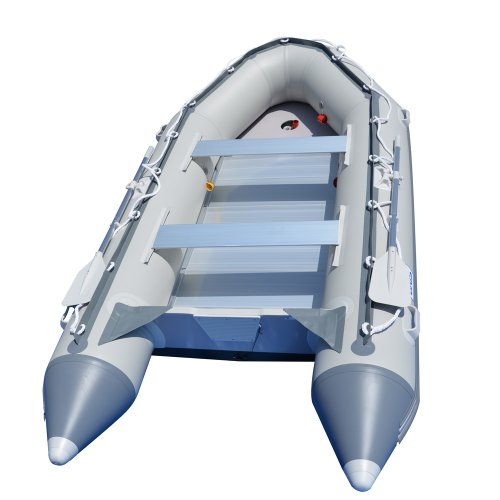 BRIS 12.5 ft Inflatable Boat Inflatable Fish Hunter & Person Inflatable Raft Boat