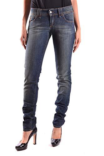 Mujer Jeans Mcbi18890 Azul Galliano Algodon CwaxRZRd