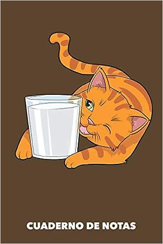 Cuaderno de Notas: Me encanta la leche A5 punteadas - 120 ...