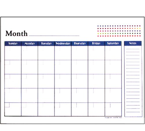 ted 12-Months Desk Pad Calendar (12 Month Desk Pad Calendar)