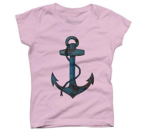 Price comparison product image Anker Girl's X-Small Pink Youth Graphic T Shirt - Design By Humans