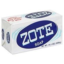 Zote White Laundry Soap, 14.1 Oz