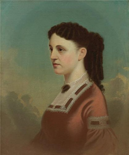 Oil Painting 'George Caleb Bingham,Roma Johnson Wornall,1867-1874', 24 x 29 inch / 61 x 73 cm , on High Definition HD canvas prints is for Gifts And Bar, Bed Room And Gym Decoration, pop