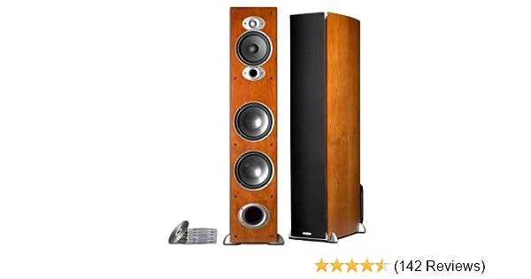 Amazon Polk Audio RTI A7 Floorstanding Speaker Single Cherry Home Theater