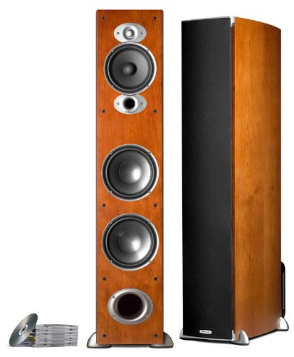 Polk Audio RTI A7 Floorstanding Speaker (Single, Cherry) by Polk Audio
