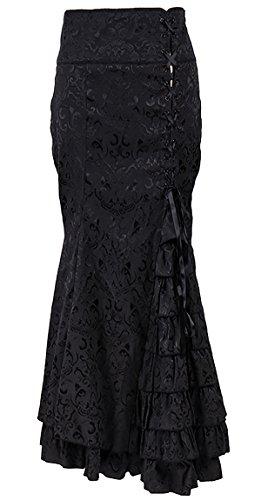 long black goth dresses - 6