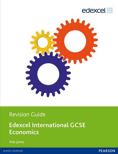 Edexcel International GCSE Economics Revision Guide print and ebook bundle
