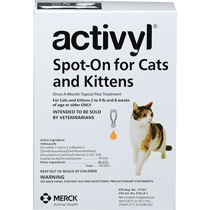 Activyl Cats and Kittens 6pk Cats by Merk