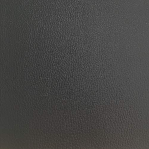 Tela por metros de polipiel para tapizar - Tapiceria - Ancho 140 cm - Largo a eleccion de 50 en 50 cm | Gris antrac