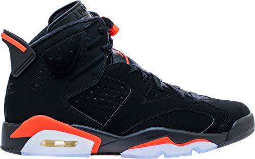Nike Air Jordan 6 2019 Retro 384664 060 Black/Infrared (10) (Shoes Retro Nike)