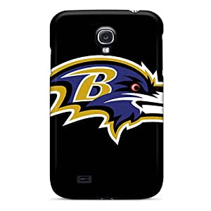 Protector Cell-phone Hard Cover For Samsung Galaxy S4 With Provide Private Custom HD Baltimore Ravens Pattern ErleneRobinson