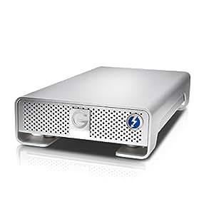 Hitachi G-Drive Thunderbolt 0G03050 4TB USB 3.0 External Hard Drive (Silver)
