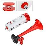 Air Horn Pump Handheld Aluminum+ABS Loud Sound Hand