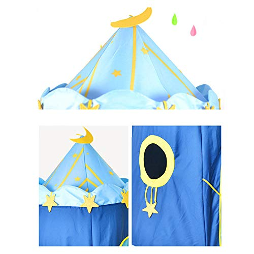 Sport 110 150cm Children's Outdoor Entertainment Yur Pet Mat Blue House Yurts Moon Tent Game Room by Shop Sport (Image #3)