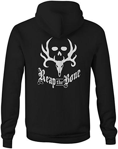 Reap the Bone Archery Bowhunting Bone Collector Full Zip Sweatshirt - XL