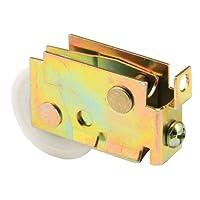 Slide-Co 133487 Sliding Door Roller Assembly with 1-1/2-Inch Nylon Ball Bearing