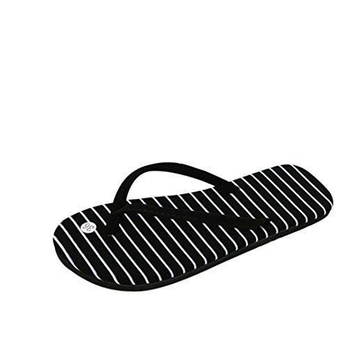 Elecenty Flip-flops Sandal Zehentrenner Hausschuhe,Schuhe Slipper Badesandalette Frauen Flache Sandalen Offene Damenschuhe Schuh T-Strap Flats Freizeitschuhe Strandschuhe Sommerschuh B