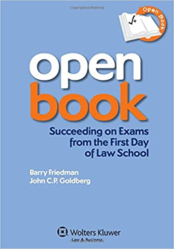 open book succeeding on exams from the first day of law school