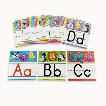 Zoo Animal Alphabet Letter Set