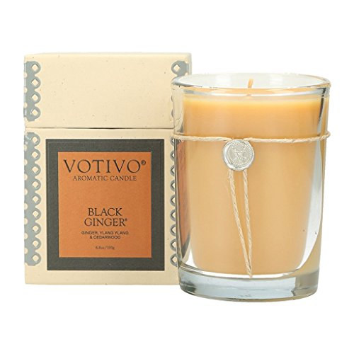 (Votivo Aromatic Candle - Black Ginger )