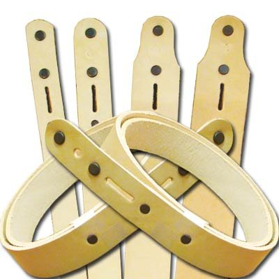 """Springfield Leather Company Belt Blank with Snaps, 1-1/2"""" X 72"""""""