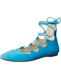 Women's Signmeup Suede Ballet Flat