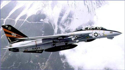 1/72 F-14A アメリカ海軍 VF-154 ブラックナイツ NF100 1996 910737