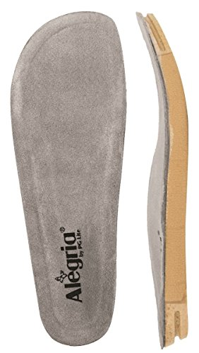 Alegria Women's Wide Replacement Insole Grey 42 W ()